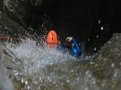 Canyoning vs snack